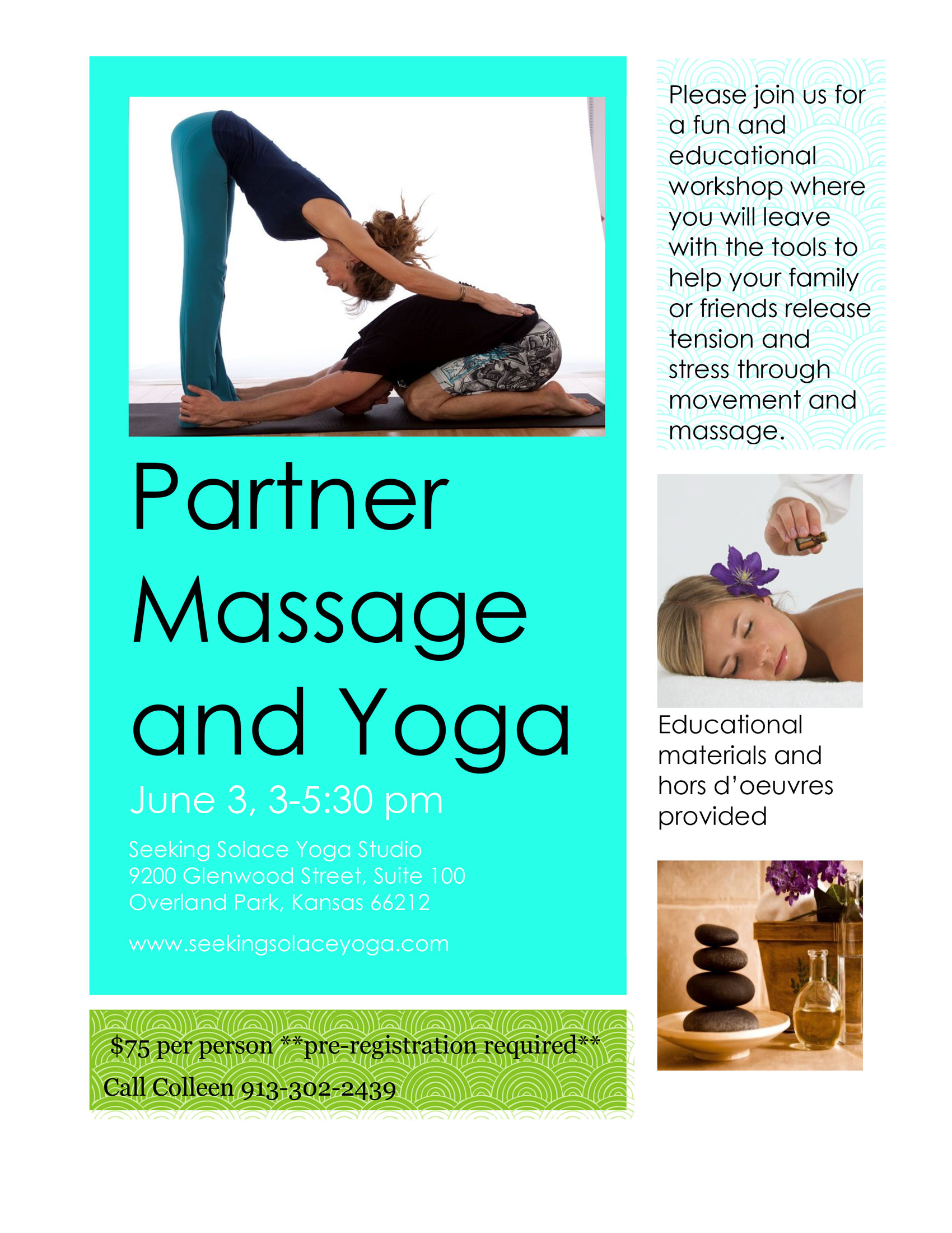 Partner Massage & Yoga